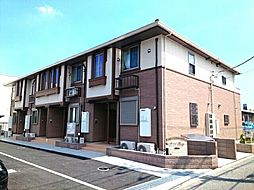 神奈川県大和市深見東2丁目の賃貸アパートの外観