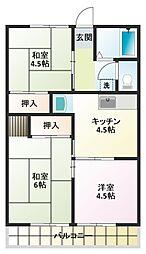 トルナーレ[1階]の間取り