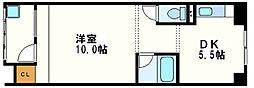 白菊荘[1階]の間取り