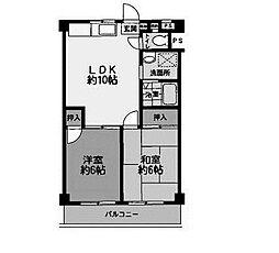 第1SKビル[4階]の間取り