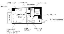 プチグランデロワール[2階]の間取り