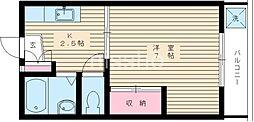 6996[103号室]の間取り