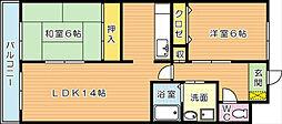 新栄ビル[6階]の間取り