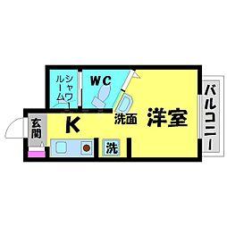 Collection関目弐番館[1階]の間取り