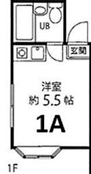 カーサアヅマ[1階]の間取り