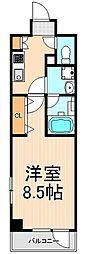 フュージョナル浅草DUE[9階]の間取り