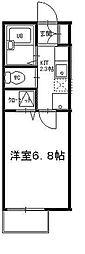 オーパス矢向[1階]の間取り