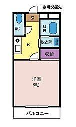 セマシャンブル[2階]の間取り