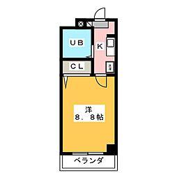 ソレアード伊藤[2階]の間取り