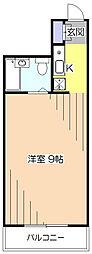 東京都東村山市野口町2丁目の賃貸マンションの間取り