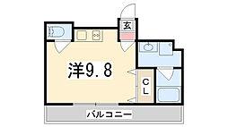 エクセル姫路[10階]の間取り