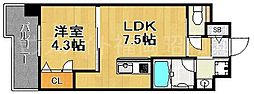 ラファセグランビア博多[6階]の間取り
