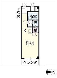 シャトーヒロ[3階]の間取り
