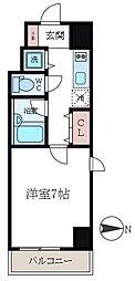 アーバンファースト錦糸町[403号室]の間取り