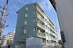 愛知県安城市篠目町古林畔の賃貸マンションの外観