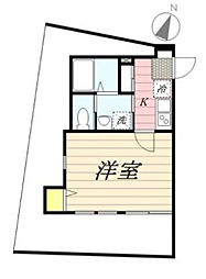 Classy津田沼II[1階]の間取り