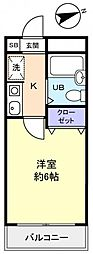 パレ・ドール津田沼II[1階]の間取り
