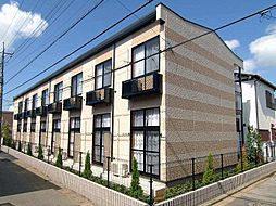 千葉県市川市宮久保4丁目の賃貸アパートの外観