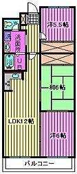 ルミール篠田[4階]の間取り