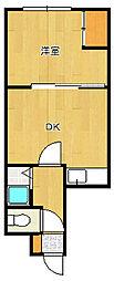 プラザマンション17[303号室]の間取り