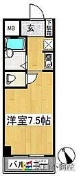 豊国スカイマンション久留米南[203号室]の間取り