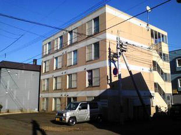 北海道札幌市豊平区中の島一条4丁目の賃貸マンション