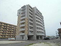 福岡県北九州市若松区北湊町の賃貸マンションの外観