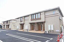 三重県三重郡朝日町大字縄生の賃貸アパートの外観