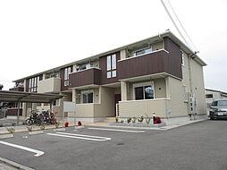大阪府堺市美原区丹上の賃貸アパートの外観