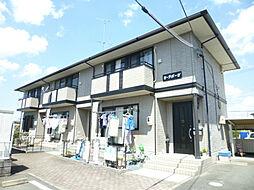 静岡県浜松市浜北区中条の賃貸アパートの外観