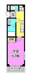 セイヤ秋津[3階]の間取り