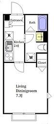 (仮称)上馬5丁目マンション[102号室]の間取り