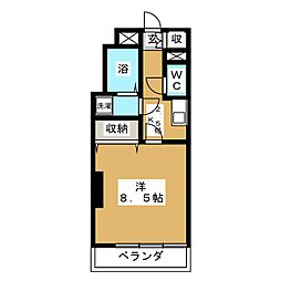 第2サンハイツ台原[2階]の間取り
