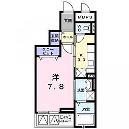 クレメントハウス[3階]の間取り