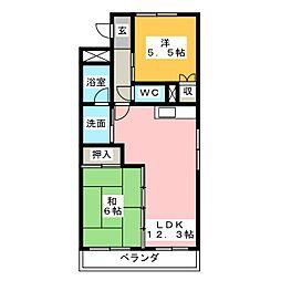 マ・メゾン壱番館[2階]の間取り