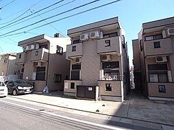 ピュア箱崎東 伍番館[1階]の外観