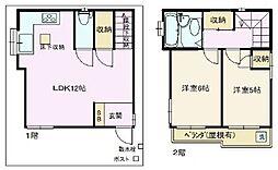 [一戸建] 東京都杉並区和泉4丁目 の賃貸【/】の間取り
