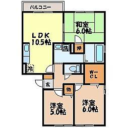 アベニュー島田VII[2階]の間取り
