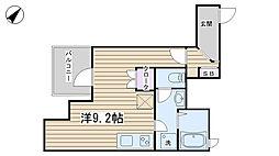 ユニーブル田端新町[1202号室]の間取り