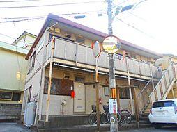 埼玉県川口市大字東本郷の賃貸アパートの外観