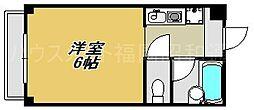 福岡県福岡市博多区麦野6の賃貸アパートの間取り