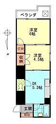 シティタウン久永No.1[4階]の間取り