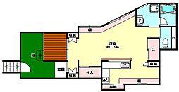[一戸建] 兵庫県神戸市兵庫区上三条町 の賃貸【/】の間取り