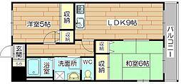 メゾン千代田[2階]の間取り
