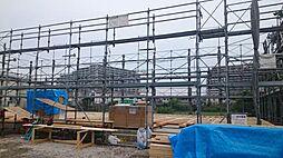埼玉県川越市大字南田島字堤外の賃貸アパートの外観