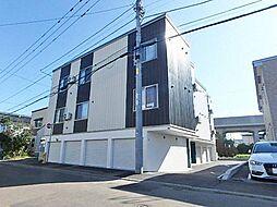 JR学園都市線 新琴似駅 徒歩10分の賃貸アパート