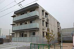 広島県広島市佐伯区楽々園6丁目の賃貸アパートの外観