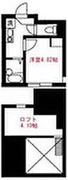 Elua西横浜[204号室]の間取り