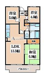 M TAKAI[1階]の間取り