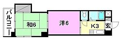 池田ビル[505 号室号室]の間取り